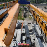 Double girder overhead crane_Strele industrial